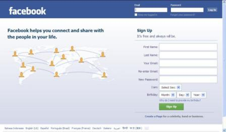 FB Login - Cara Login Facebook